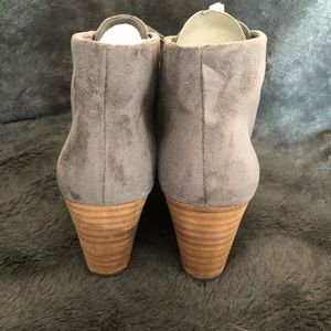Dr. Scholl's Shoes - NWT Dr. Scholls wedge bootie in faux gray suede.